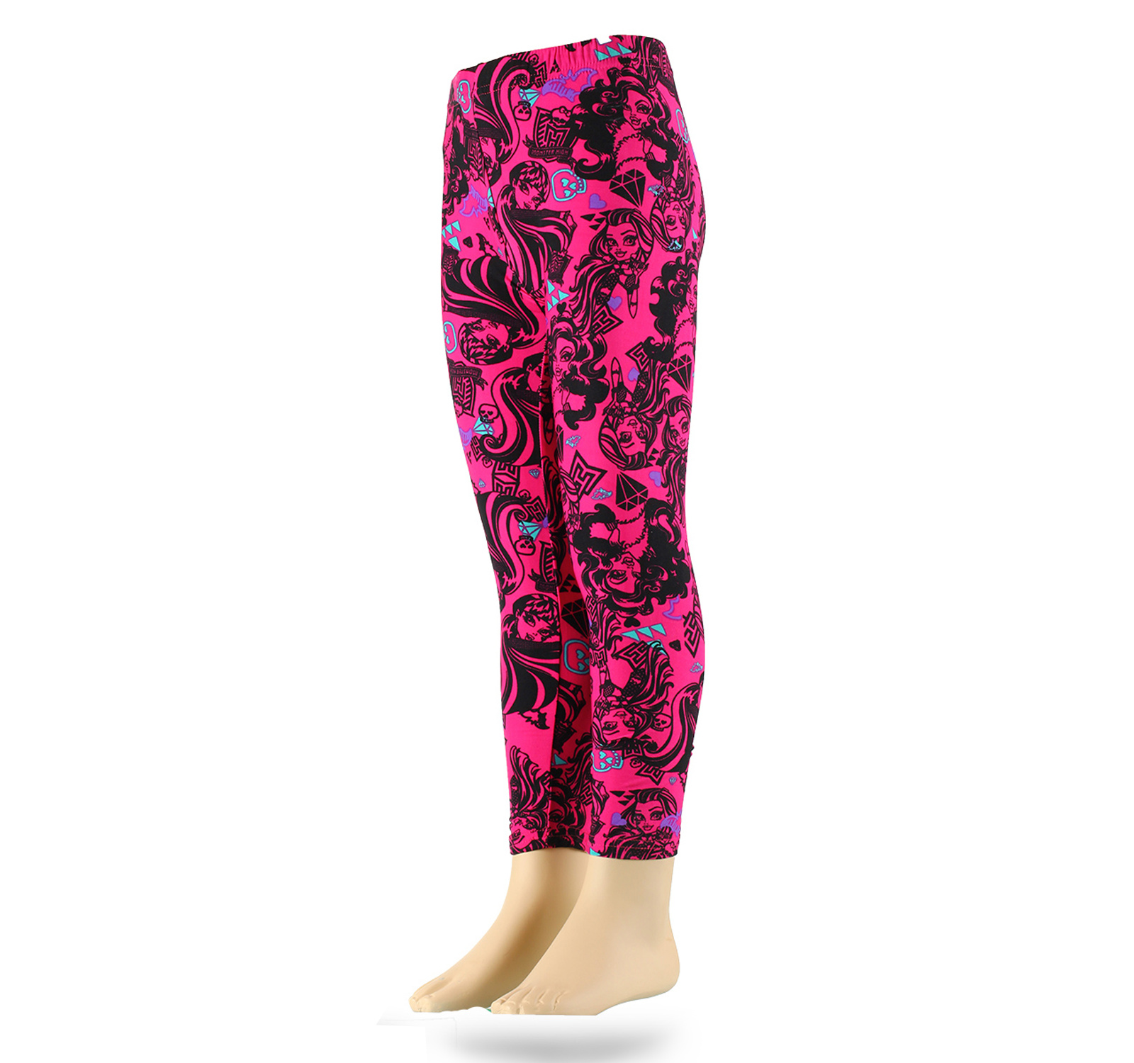 Monster High® Leggins (116-152) Fuxia