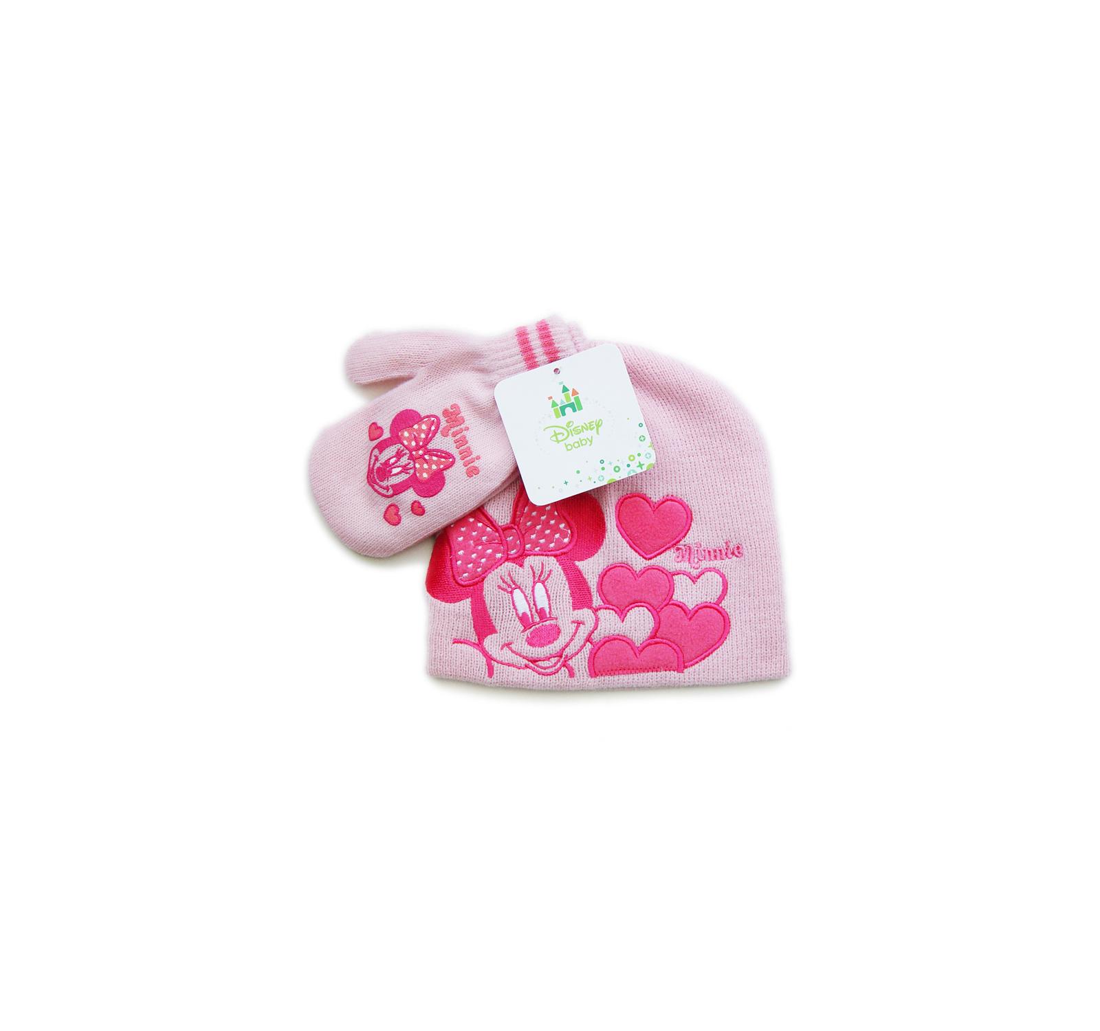 Minnie® Set Caciulita (48-50) Roz