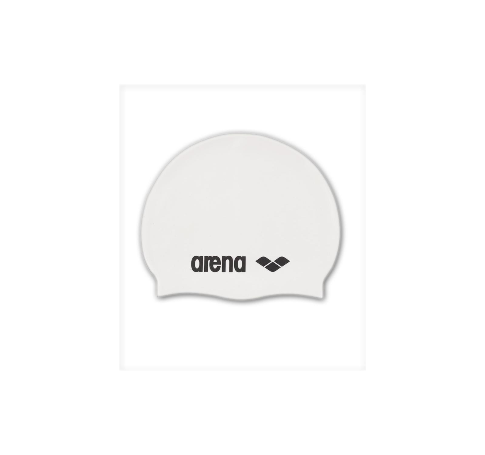 Arena® Clasic Silicon casca Alb