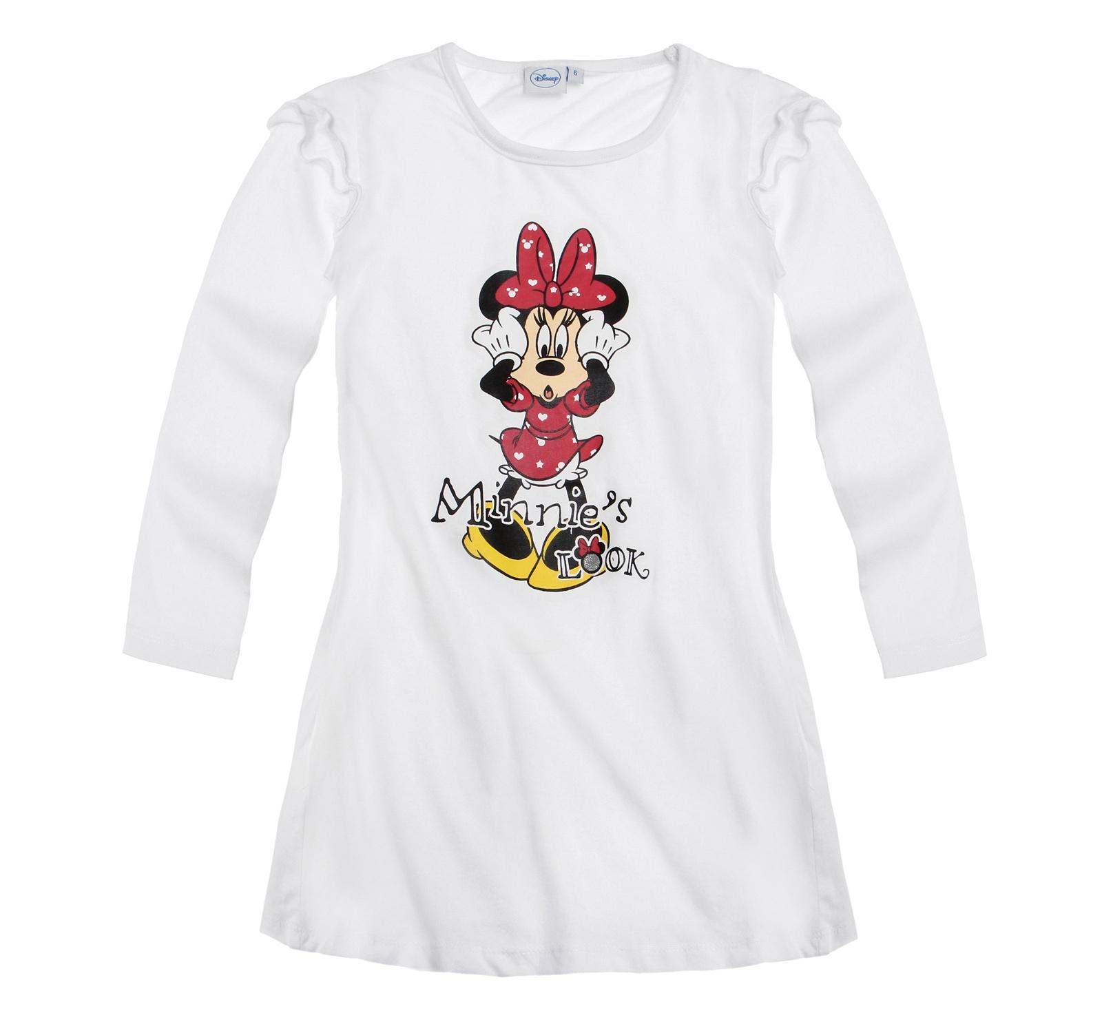 Minnie® Camasa noapte (92-128) Alb