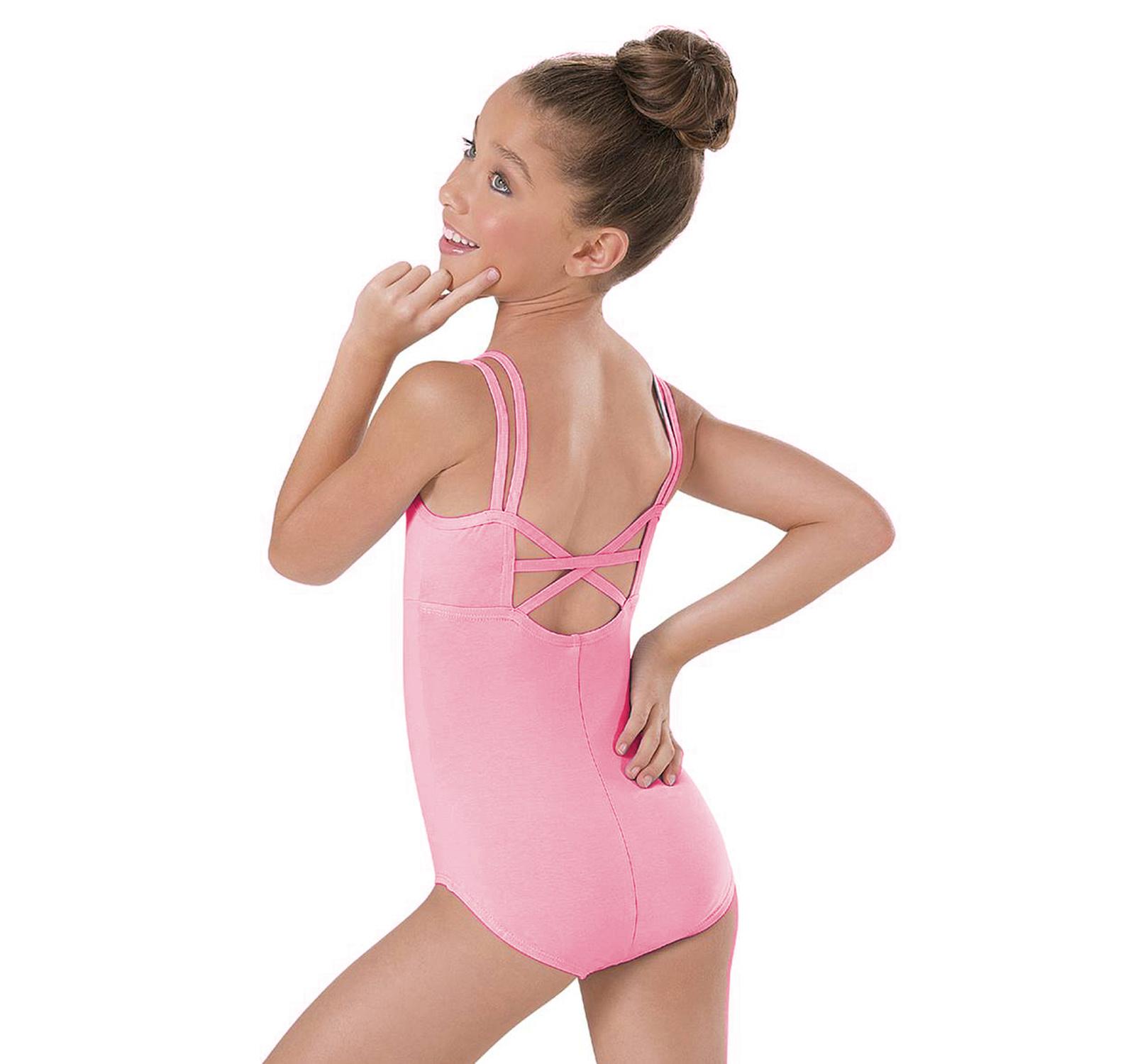 Costum gimnastica & dans Roz 16300