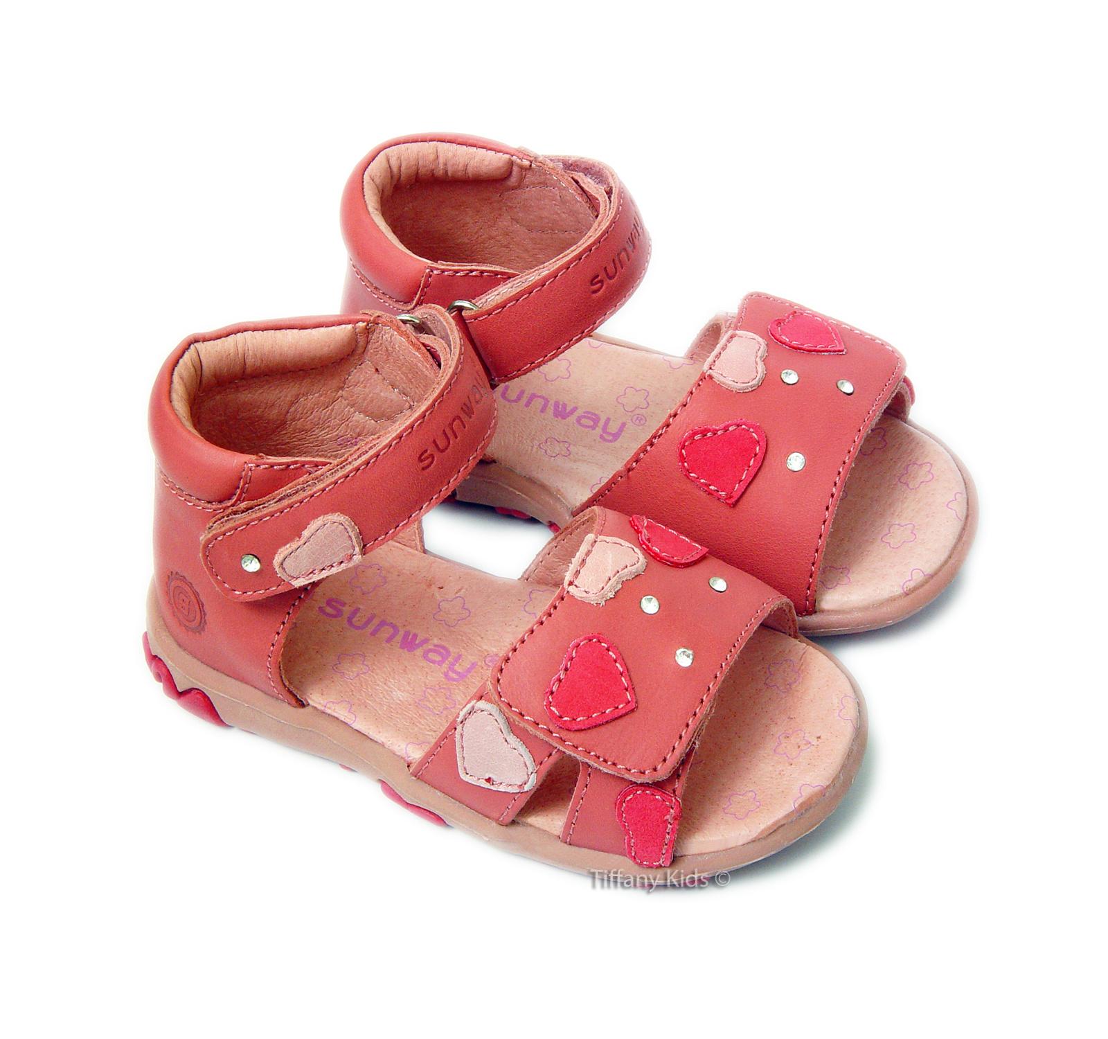 Sunway® Sandale piele Roz
