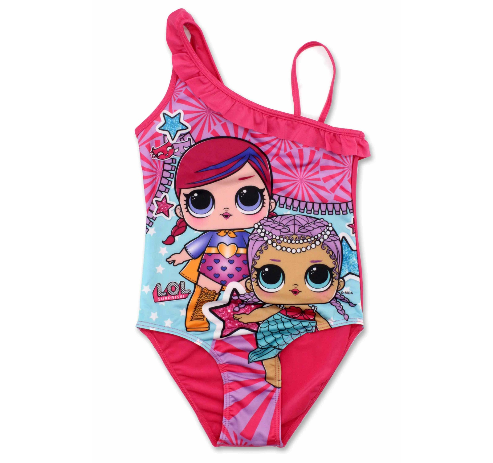 L.O.L. Surprise® Costum  baie intreg fuxia 192727