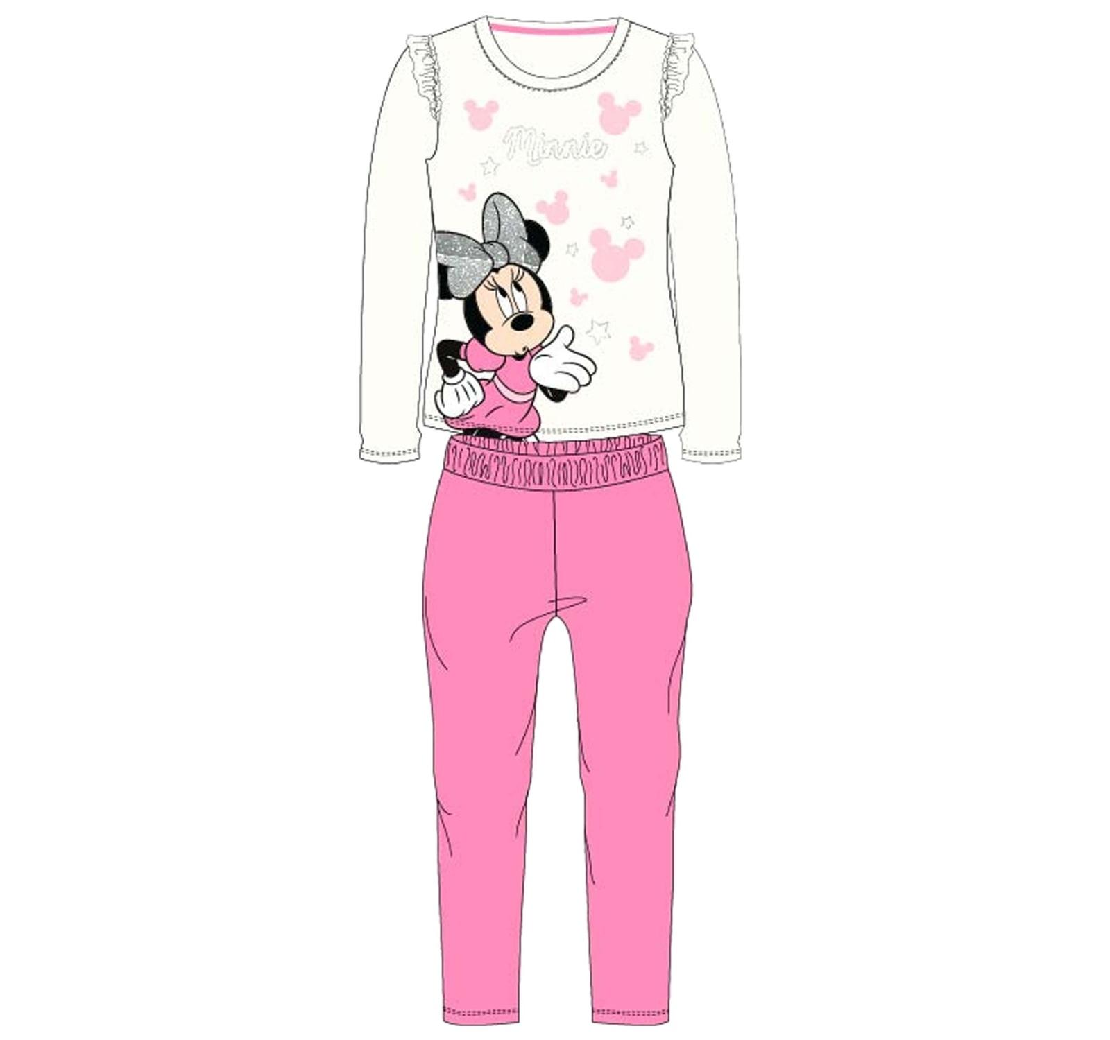 Minnie® Pijama alb-ciclam 634542