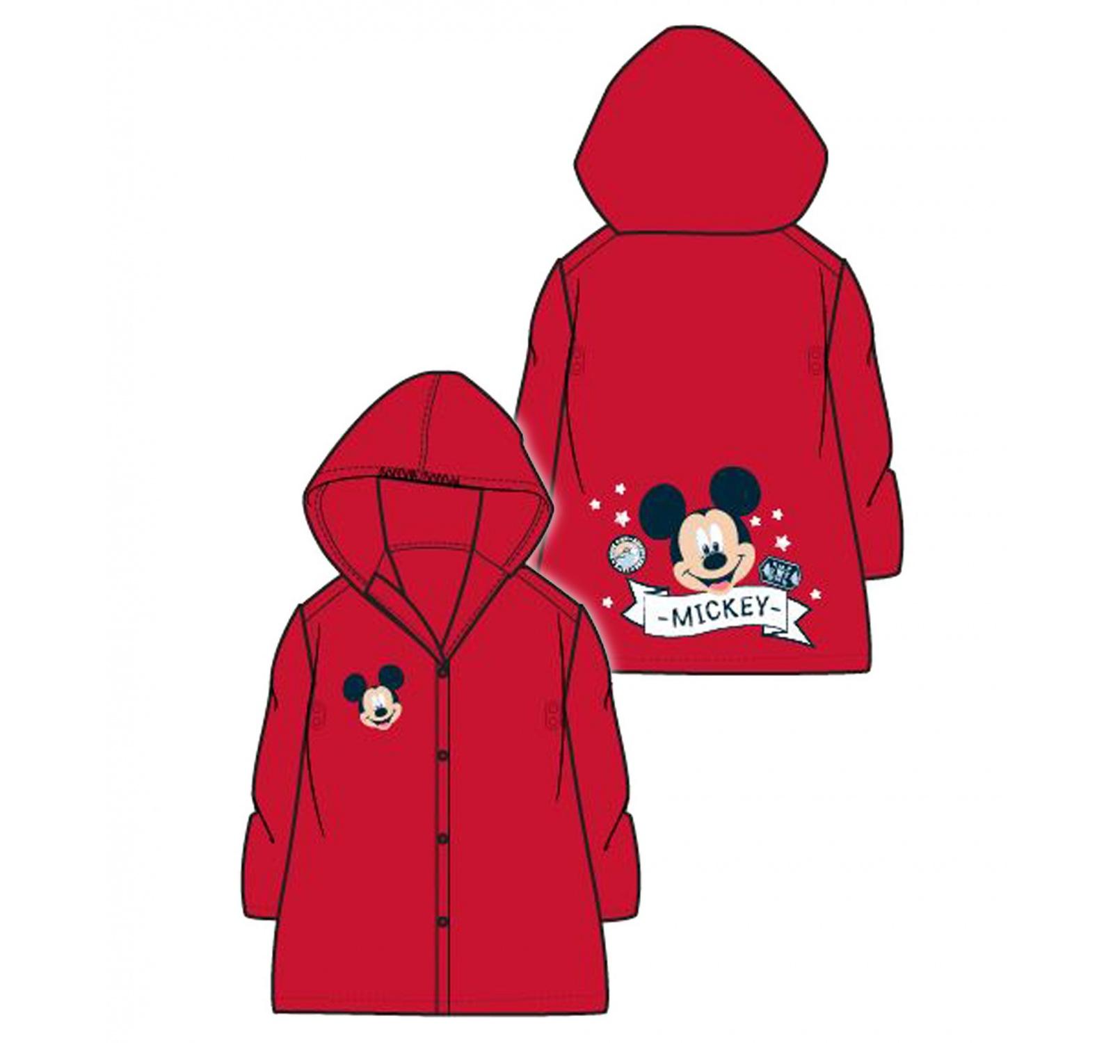 Mickey® Pelerina ploaie rosie 618941